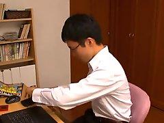 Japanese teacher gangbanged by students