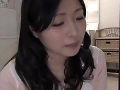 Horny Japanese girl in Best Creampie, MILF JAV movie