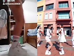 Chinese Taiwan Fila girl dancing sex boy